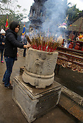 Vietnam, Hoa Lu, capital of Vietnam in the 10th and 11th centuries. temple of Dinh Tien Hoang