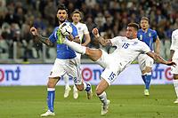 Roberto Soriano Italy, Kyle Walker England,<br /> Torino 31-03-2015 Juventus Stadium Football Friendly Match. Calcio Amichevole 2014/2015 Italia - Inghilterra / Italy Vs England . Foto Filippo Alfero / Insidefoto