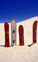 Florianopolis, Santa Catarina, Brasil..Pranchas de Sandboard na Praia da Joaquina./ Sandboards in Joaquina beach..Foto ©Marcos Issa/Argosfoto