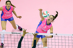 26-04-2016 ITA: Imoco Volley Conegliano - Nordmeccanica Piacenza, Treviso<br /> Final play-offs, Conegliano wint de eerste wedstrijd 1-0 / Yvon Belien, Floortje Meijners<br /> <br /> ***NETHERLANDS ONLY***
