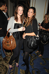 Left to right, ARABELLA MUSGRAVE and AMANDA SHEPPARD at a party to celebrate the launch of The Essential Party Guide held at the Mandarin Oriental Hyde Park, 66 Knightsbridge, London on 27th March 2007.<br />