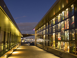 United States, Washington, Tacoma, Chihuly Bridge of Glass