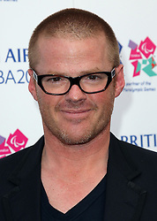 Heston Blumenthal at the launch of the Flight BA2012 pop up restaurant in London, Tuesday 3rd April 2012.  Photo by: Stephen Lock / i-Images