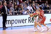 DESCRIZIONE : Milano Lega A 2014-15 EA7 Emporio Armani Milano vs Sidigas Avellino<br /> GIOCATORE : Cortese Riccardo<br /> CATEGORIA : Passaggio precario<br /> SQUADRA : Sidigas Avellino<br /> EVENTO : Campionato Lega A 2014-2015<br /> GARA : EA7 Emporio Armani Milano Sidigas Avellino<br /> DATA : 16/02/2015<br /> SPORT : Pallacanestro <br /> AUTORE : Agenzia Ciamillo-Castoria/I.Mancini<br /> Galleria : Lega Basket A 2014-2015  <br /> Fotonotizia : Milano Lega A 2014-2015 EA7 Emporio Armani Milano Sidigas Avellino<br /> Predefinita :