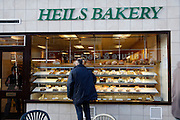 Heils bakery. High street shops and shopping,  January 2009, Lowestoft, Suffolk, England