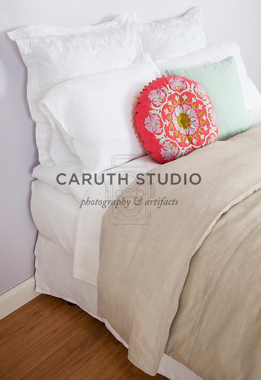 Layers of luxury bedding