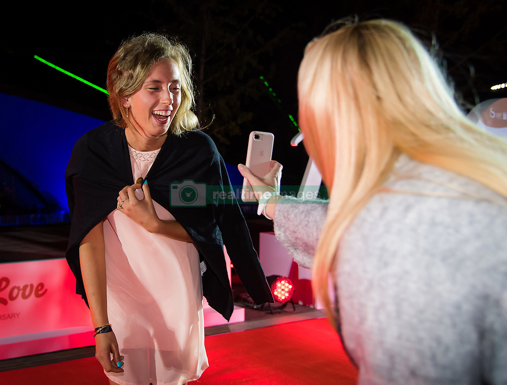 September 30, 2018 - Elise Mertens of Belgium on the red carpet at the 2018 China Open WTA Premier Mandatory tennis tournament players party (Credit Image: © AFP7 via ZUMA Wire)