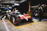 June 12-17, 2018: 24 hours of Le Mans. 8 Toyota Racing, Toyota TS050 Hybrid, Sebastien Buemi, Kazuki Nakajima, Fernando Alonso
