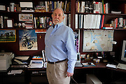 Richard S. Lowry, 61, a military historian and author, is portrayed in his home in Orlando, FL, USA. Mr Lowry is the author of the book 'New Dawn, The Battles for Fallujah', published in May, 2010.