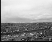 Views of Dublin from Christchurch Cathedral.31/07/1970