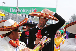 Formel 1: GP von Mexiko 2016 - Rennen in Mexiko-Stadt / 301016<br /> <br /> ***Alex Wurz (AUT) Williams Driver Mentor / GPDA Chairman.<br /> 30.10.2016. Formula 1 World Championship, Rd 19, Mexican Grand Prix, Mexico City, Mexico, Race Day.<br /> Copyright: Moy / XPB Images / action press ***