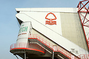 Forest's ground ahead of the Sky Bet Championship match between Nottingham Forest and Sheffield Wednesday at the City Ground, Nottingham, England on 12 March 2016. Photo by Jon Hobley.