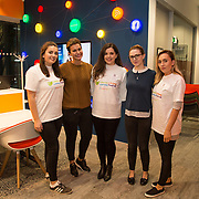 03.04.2017        <br /> Librarians at the Gluskman Library University of Limerick partnered with students of journalism at the University of Limerick to present a Limerick Lifelong Learning Festival talk on Fake News and How to Spot It at the Bank of Ireland Workbench. <br /> <br /> Pictured at the event were talk presenters, Michael Hogan, UL, Marie Walsh, BOI Workbench, Niamh McMahon, UL, Cheyenne Keeley, BOI Workbench and Jennifer Purcell, UL. Picture: Alan Place.