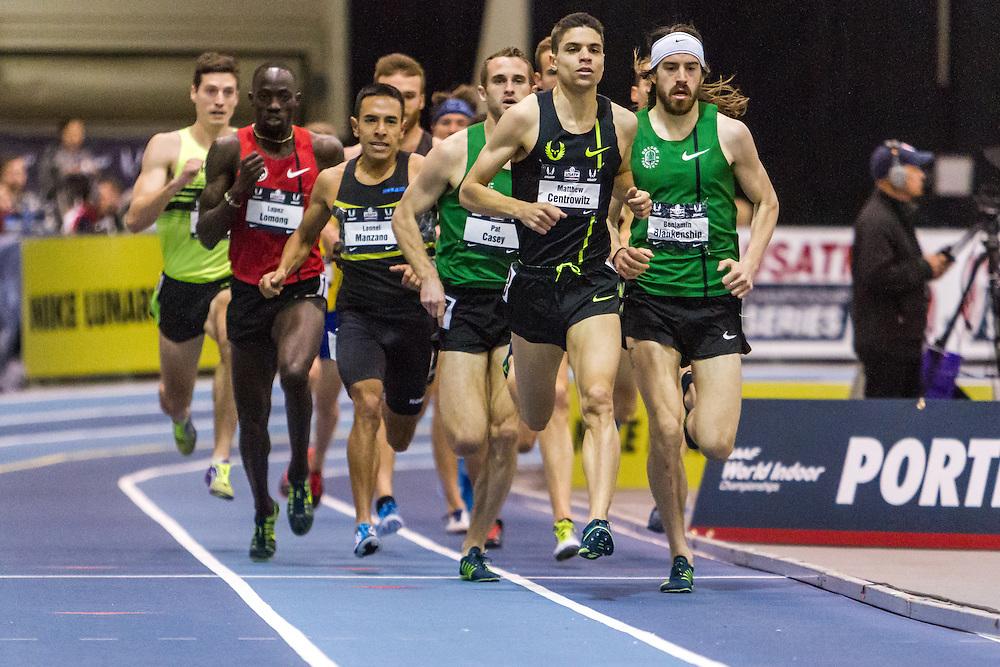 USATF Indoor Track & Field Championships: Men's Mile, Matthew Centrowitz, Casey, Blankenship, Manzano
