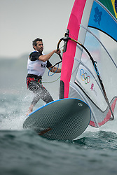 2012 Olympic Games London / Weymouth<br /> RSX man racing day 1 <br /> RS:X WomenBRAFreitas Patricia