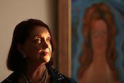 Belo Horizonte_MG, Brasil...Retrato de Teresinha Soares, artista que fazia performance na decada de 70...Portrait of Teresinha Soares, performance artist in the 70s. ..Foto: LEO DRUMOND / NITRO