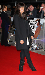 Claudia Winkleman arriving at the W.E. premiere in London, Wednesday 11th January 2012.  Photo by: Stephen Lock / i-Images