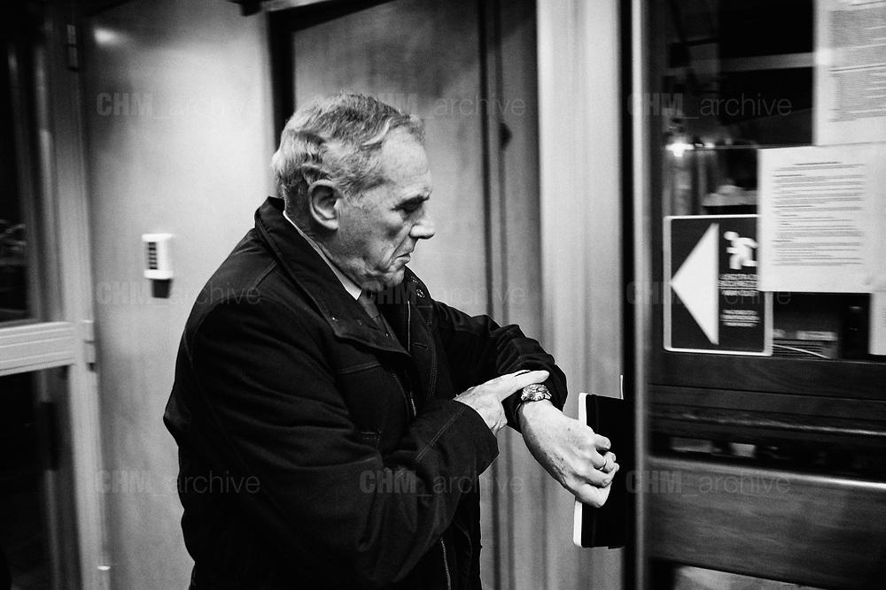 Pietro Grasso ospite della trasmissione televisiva 'Otto e Mezzo' a La7. Roma 5 Gennaio 2018. Christian Mantuano / OneShot