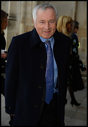 Jonathan Dimbleby  arrives at Westminster Abbey for the service to celebrate the life and work of Sir David Frost, Westminster Abbey, London, United Kingdom. Thursday, 13th March 2014. Picture by Andrew Parsons / i-Images