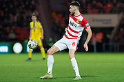 Doncaster Rovers midfielder Ben Whiteman (8) during the The FA Cup 5th round match between Doncaster Rovers and Crystal Palace at the Keepmoat Stadium, Doncaster, England on 17 February 2019.
