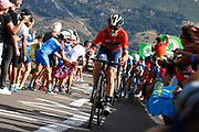 Ion Izagirre (ESP, Bahrain Merida) during the 73th Edition of the 2018 Tour of Spain, Vuelta Espana 2018, Stage 13 cycling race, Candas Carreno - La Camperona 174,8 km on September 7, 2018 in Spain - Photo Luca Bettini / BettiniPhoto / ProSportsImages / DPPI