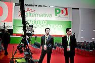 ROMA. ADDETTI ALLA SICUREZZA ALL'ASSEMBLEA NAZIONALE DEL PARTITO DEMOCRATICO