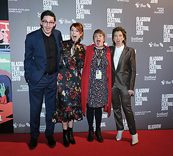 The Scottish Premiere of Wild Rose<br /> <br /> Pictured: James Harkness, Jessie Buckley, Allison Gardner (festival director) and Nicole Taylor (writer)<br /> <br /> (c) Aimee Todd | Edinburgh Elite media