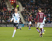 Dundee&rsquo;s Rory Loy celebrates his equalising goal - Hearts v Dundee - SPFL Premiership at Tynecastle<br /> <br />  - &copy; David Young - www.davidyoungphoto.co.uk - email: davidyoungphoto@gmail.com