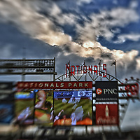 21 August 2012:  A 13 frame HDR image done at Nationals Park in Washington, D.C. where the Washington Nationals defeated the Atlanta Braves, 4-1.