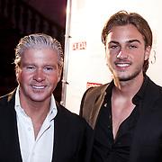 NLD/Amsterdam/20131111 - Beau Monde Awards 2013, Dries Roelvink en zoon Dave Roelvink