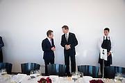 BARON JOHN BROWNE; SIR NICHOLAS SEROTA, Per Kirkeby Opening Reception and Dinner. Tate Modern. 16 June 2009.