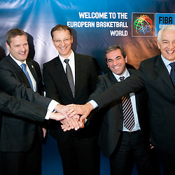 20101205: GER, Basketball - Slovenia Eurobasket 2013 - Candidate presentation at FIBA EUROPE Board