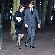NLD/Delft/20131102 - Herdenkingsdienst voor de overleden prins Friso, prins Pieter - Christiaan en partner Anita van Eijk