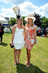 Left to right, MISS EMILY MUIR BEDDALL and MISS MATILDA STOPFORD at at the first day of the 2009 Royal Ascot racing festival on 16th June 2009.