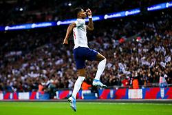Marcus Rashford of England scores England's 4th goal to make it 4-0 - Rogan/JMP - 14/11/2019 - FOOTBALL - Wembley Stadium - London, England - England v Montenegro - UEFA Euro 2020 Qualifiers.