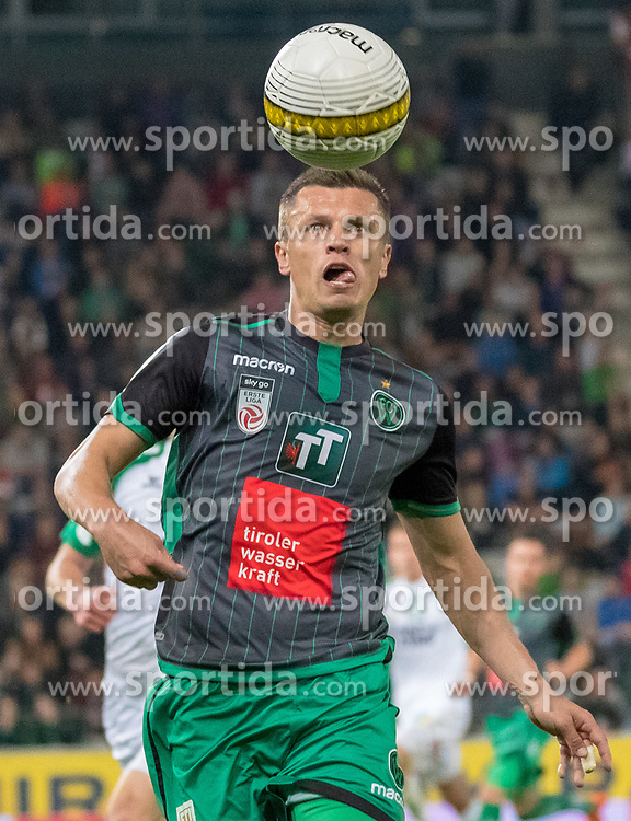 04.05.2018, Tivoli Stadion, Innsbruck, AUT, 2. FBL, FC Wacker Innsbruck vs WSG Swarovski Wattens, 32. Runde, im Bild Zlatko Dedic (FC Wacker Innsbruck) // during second Austrian Bundesliga 32nd round match between FC Wacker Innsbruck and WSG Swarovski Wattens at the Tivoli Stadion in Innsbruck, Austria on 2018/05/04. EXPA Pictures © 2018, PhotoCredit: EXPA/ Jakob Gruber