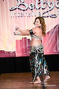 A dance performance at the 2015 Las Vegas Bellydance Intensive