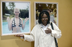 Marilyn Monroe's 'Happy Birthday Mr. President' Kleid beim Presse-Preview der Ausstellung 'Marilyn: Character not Image' im MANA Contemporary in Jersey City - hier Kuratorin Whoopi Goldberg<br /> <br /> / 220916<br /> <br /> *** Marilyn: Character not Image exhibition in Jersey City; September 22nd, 2016 ***