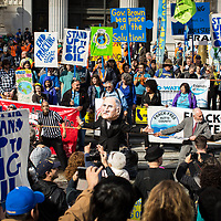 Oakland, CA Protest against Big Oil's Funding Climate Denial and against Fracking   Political Theatre   Frank Ozawa Plaza   Climate Stories   Conservation Photographer <br /> <br /> Drew Bird Photography <br /> San Francisco Freelance Photographer <br /> Have Camera. Will Travel.