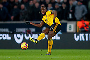 Wolverhampton Wanderers defender Willy Boly (15) in action  during the Premier League match between Wolverhampton Wanderers and Newcastle United at Molineux, Wolverhampton, England on 11 February 2019.