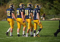 Bow versus Stevens varsity high school football at Bow High School.    © 2013 Karen Bobotas / for the Concord Monitor