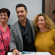 Olympia, London, UK. 22rd November, 2017. Gino D'Acampo is an Italian Chef book signing at Ideal Home Show at Christmas on 23rd November 2016 running from 23rd-27th November at Olympia, London, UK.