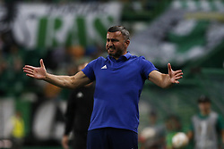 September 20, 2018 - Lisbon, Portugal - Gurban Gurbanov reacts during Europa League 2018/19 match between Sporting CP vs Qarabagh FK, in Lisbon, on September 20, 2018. (Credit Image: © Carlos Palma/NurPhoto/ZUMA Press)