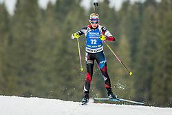 Marketa Davidova (CZE) during Women 15km Individual at day 5 of IBU Biathlon World Cup 2018/19 Pokljuka, on December 6, 2018 in Rudno polje, Pokljuka, Pokljuka, Slovenia. Photo by Ziga Zupan / Sportida