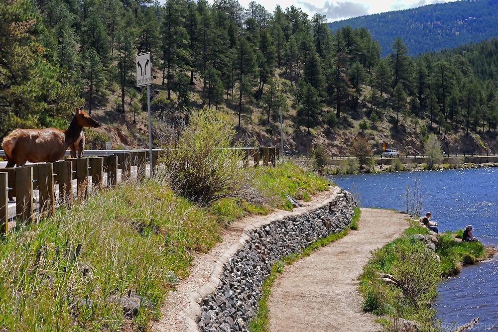 Evergreen Lake. Evergreen, Colorado.