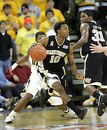 26 NOVEMBER 2007: Wake Forest guard Ishmael Smith (10) in Wake Forest's 56-47 win over Iowa at Carver-Hawkeye Arena in Iowa City, Iowa on November 26, 2007.