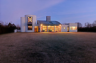 Modern Home, designed by Charles Gwathmey, Sagaponack, New York