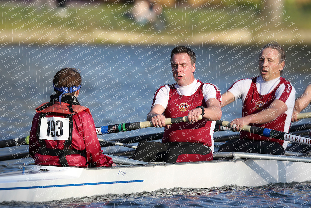 2012.02.25 Reading University Head 2012. The River Thames. Division 2. Marlow Rowing Club MasD 8+