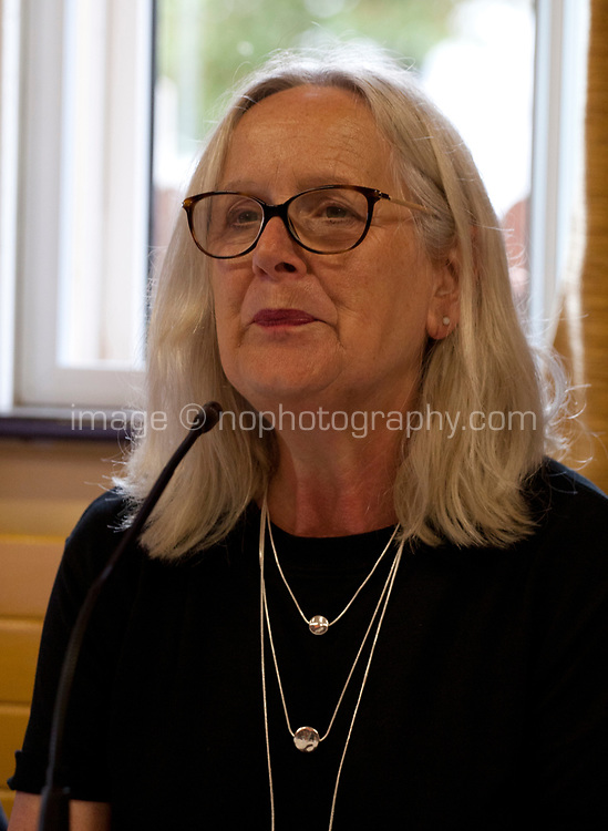 Dr Annie Doona  – Chair Screen Ireland at the 'Accelerating Gender Equality: Time for Quotas? What do you think?' Panel Discussion at the Galway Film Fleadh, Galway Rowing Club, Galway, Ireland. Saturday 14th July 2018