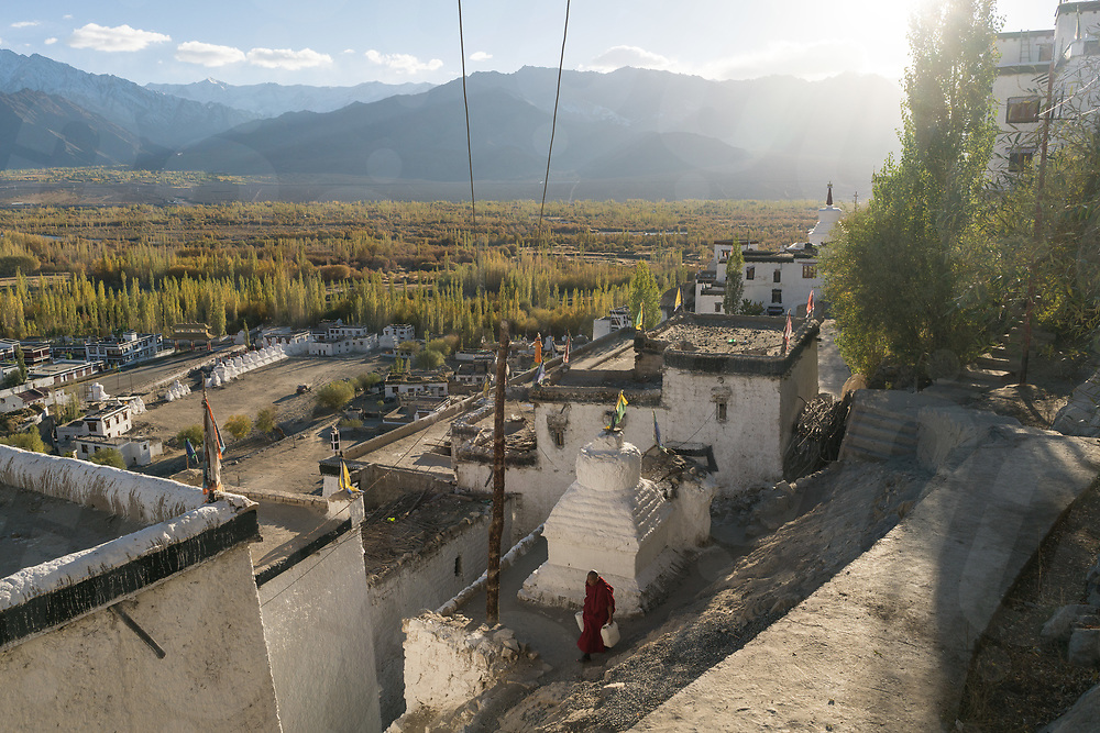 October 11 - 2016 - Leh, Ladakh (India). Thiksey Monastery a few km from leh. © Thomas Cristofoletti / Ruom